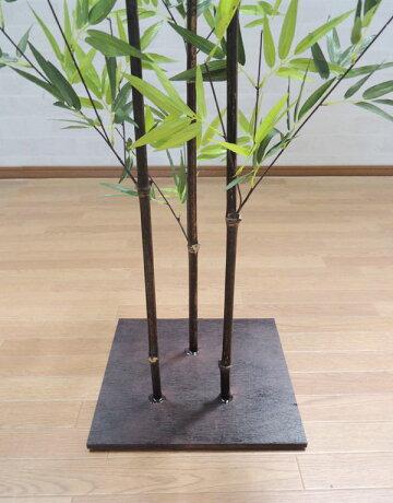 黒竹100cm(造花人工観葉植物バンブー和風ガーデニング造園庭園坪庭インテリアおしゃれ)