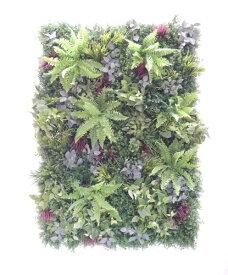 壁面緑化パネル グリーンQ 1.8m×1.2m(2分割 大型 目隠し イミテーション 造花 フェイク 装飾 インテリア おしゃれ 室内)