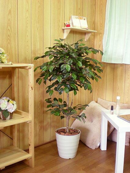 カメリアツリー 100cm (椿 ツバキ インテリア 人工観葉植物 造花 1m)