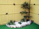 シラカシ 高さ100cm (造花 人工観葉植物 白樫 和風 ガーデニング 造園 庭園 坪庭 エクステリア)