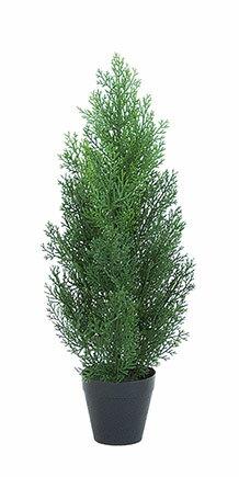 クレストツリー (グリーン) 60cm (造花 インテリア 観葉植物 人工 フェイクグリーン 屋外用)
