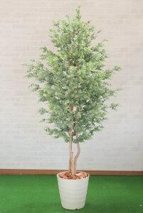 ユーカリの木 180cm(造花 インテリア おしゃれ 室内 人工 観葉植物 大型 装飾 飾り 作り物 フェイク グリーン プランツ)