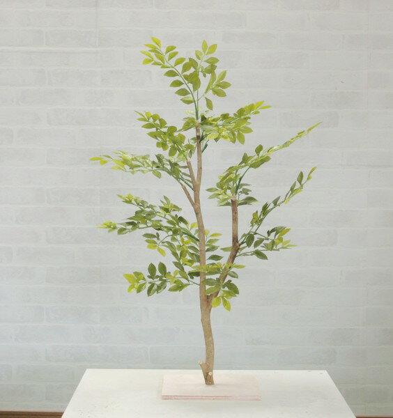 明るい葉のトネリコツリー60cm(造花 観葉植物 インテリア ゴールデンリーフ 人工)