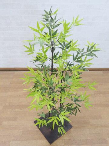 黒竹100cm(造花人工観葉植物バンブー和風ガーデニング造園庭園坪庭エクステリア)