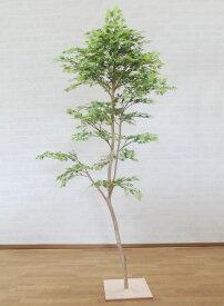 モミジ グリーン 180cm (造花 観葉植物 もみじ 紅葉 和風 ガーデニング 造園 庭園 坪庭 インテリア おしゃれ 室内)