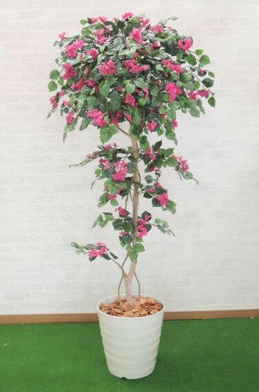 ブーゲンビリア 150cm (人工観葉植物 造花 1.5m)