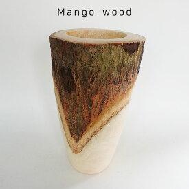 Mango Wood Tall 鉢カバー【stem/天然木】