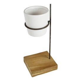 Science Pot【鉢/おしゃれ/鉢カバー/木製/アイアン/ガーデニング/stem】