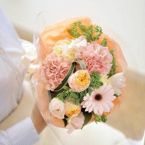 【送料無料】ブーケ SSサイズ プリティー系デザイナーズフラワー アレンジメントフラワー お祝い お花 生花 花束 ブーケ フラワーギフト 贈答 プレゼント 贈り物 全国配送 メッセージカ