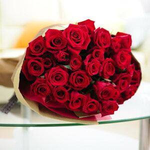 皇室献上実績のバラ農園から宅配直送!花束・ブーケ 赤バラ30本誕生日 結婚祝い 長寿祝い 新築祝い 退職祝い ブライダル ウェディング 結婚式 贈り物 フラワーギフト プレゼント お祝い