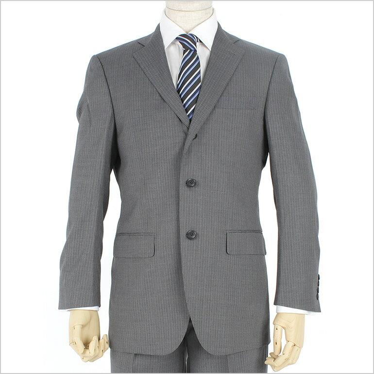 ビジネススーツ 【訳あり価格】ノーブランドだから低価格でも高品質 男性 スーツ 3つボタン/メンズ[こだわり品質/メンズ/グレー系/ビジネススーツ/リクルートスーツ/スーツ・セットアップ/紳士服/3ボタン/3釦/SUIT] ギフト ハロウィン