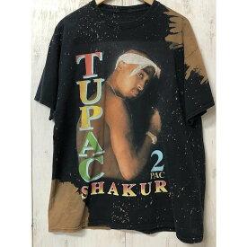 【USED】(ユーズド) 2PAC PRINT Tee 2パック プリント ビッグサイズ Tシャツ 200325SO08