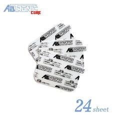 アブトロニックコア/アブトロニックコアプラス/アブトロニックコアSプラス専用ジェルシート24枚セットEMS腹筋筋トレダイエット