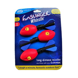 ファンスリンガー スペアロケット 3個Fun Slinger ゲーム おもちゃ 玩具 アウトドア キャンプ 子供