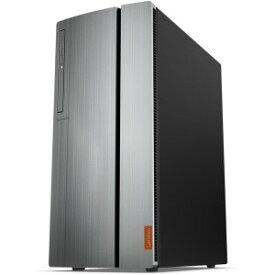 レノボ LENOVO デスクトップパソコン ideacentre 720 90H1000JJP モニター無/ Ryzen 7/ RX480/メモリ8GB/SSD 256GB+ HDD 1TB/Windows 10 【展示品】
