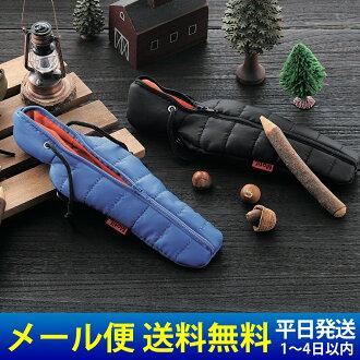睡袋铅笔案例睡袋时尚铅笔盒提出了睡袋 PENCASE 户外野营生日目前主题主题