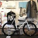 1/18迄 送料無料 100種類以上!!サドルが選べる ピストバイク 完成車 FUNホワイトファニー(610mm) シングルスピード[自転車][BMX][ピ…