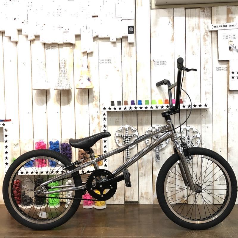 FUN BMX 20インチ ストリート 完成車 限定 クローム ブラック タイヤ 10周年 アニバーサリー 限定モデル!!【原宿】【アメ村】【大須】