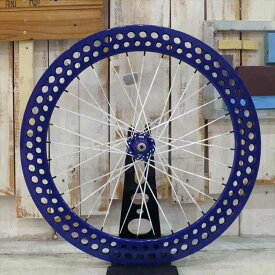 FUN 700C SODA ホイール ブルー※フロントホイール単品ピスト ピストバイク ピストホイール ホイール パーツ ピストパーツ カスタム 自転車 ホイール クリンチャー 完組 ライダーズカフェ