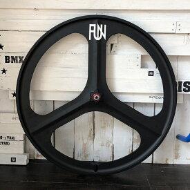 FUN Z3(ジースリー) ホイール 700C※フロントホイール単品ピストバイク ピスト ピストホイール ピストパーツ マグネシウムホイール バトンホイール 3バトン ライダーズカフェ ライダースカフェ