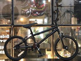ノーパンク自転車 FUN EASY BMX 16インチ 完成車マットブラック キッズ 子供用 おススメ BMX16インチ ノーパンクタイヤ ライダーズカフェ適正身長120cm以上