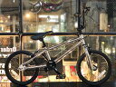 ノーパンク自転車 FUN EASY BMX 16インチ 完成車クローム キッズ 子供用 おススメ BMX16インチ ノーパンクタイヤ ライダースカフェ
