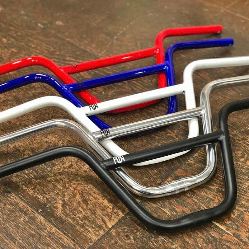 FUN BMXハンドル ハロー クランプ25.4mmBMX bmx 自転車パーツ 自転車ハンドル ピスト ピストパーツ ピストバイク ハンドル ワイド ライダーズカフェ ライダースカフェ