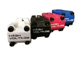 『HIGH VOLTAGE』【カメレオンサンダーステム】ハンドルクランプ径22.2mm[ピスト][BMX][ピストパーツ][ステム][ミニベロ][自転車]