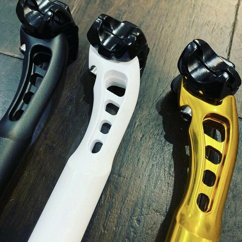 FUN エアロシートポストクランプ径27.2mm 長さ250mm自転車 自転車パーツ ピスト ピストバイク ピストパーツ シートポスト サドル アルミポスト ライダーズカフェ