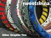 【CRASHTHEROLLCAKE】20インチカラータイヤ47-406(20×1.75)全5色