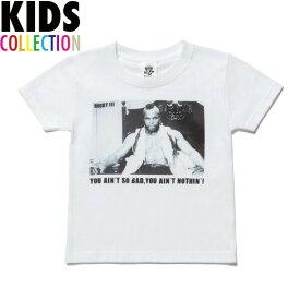 NINE RULAZ LINE ナインルーラーズ キッズ Kid's Clubber Lang Tee 半袖 Tシャツ 子供服 ROCKY3 NRKAW17-002 ホワイト