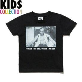 NINE RULAZ LINE ナインルーラーズ キッズ Kid's Clubber Lang Tee 半袖 Tシャツ 子供服 ROCKY3 NRKAW17-002 ブラック