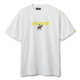 INTERBREED インターブリード ACTIVE SERVICE Disney × Interbreed Minnie Sports SS Tee 半袖 Tシャツ TEIJIN ホワイト