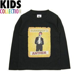 NINE RULAZ LINE キッズ ナインルーラーズ Kid's Rudebwoy BOB L/S Tee 長袖 Tシャツ ロンT 子供服 NRKAW17-005 ブラック