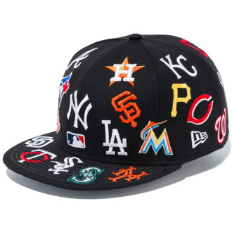5efe62d98e0 blackstore  New gills snapback cap hat NEW ERA 9FIFTY team logo All-over  style MLB 11783502 black