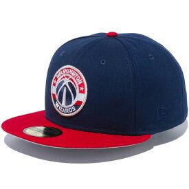 ニューエラ キャップ メンズ レディース 送料無料 NEW ERA 59FIFTY ワシントン・ウィザーズ チームロゴ フィテッド newera CAP 帽子 ぼうし ワンポイント ロゴ 刺繍 プレゼント オーシャンサイドブルー/スカーレットバイザー 12353387