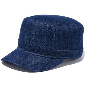 ニューエラ ワークキャップ メンズ レディース 送料無料 NEW ERA WM-01 デニム ニューエラキャップ newera cap ミリタリー アーミーキャップ 帽子 ワンポイント ロゴ 刺繍 おしゃれ プレゼント インディゴ/ネイビーフラッグ 11433910