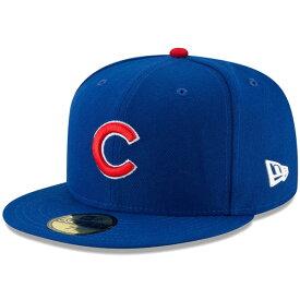 ニューエラ キャップ 送料無料 メンズ レディース NEW ERA 59FIFTY MLB オンフィールド シカゴ・カブス ゲーム ニューエラキャップ newera cap 帽子 吸汗速乾性 紫外線防御 おしゃれ プレゼント ブルー 55.8cm〜63.5cm 11449388