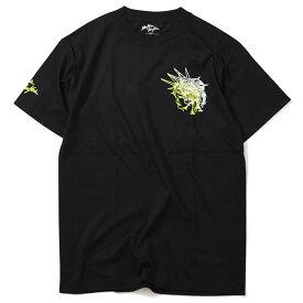 ニューヨーク ニューヨーク Tシャツ メンズ 送料無料 NEWYORK NEWYORK Liberty Tee 半袖 おしゃれ ストリート ブランド ブラック/セーフティーグリーン M-XL
