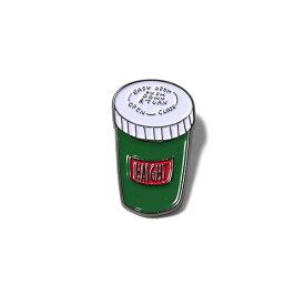 HAIGHT ヘイト ピンバッジ PILLCASE PIN BADGE haight ピンバッチ ピンズ おしゃれ プレゼント グリーン ワンサイズ HT-G207003