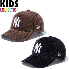 ニューエラ キャップ キッズ 送料無料 NEW ERA Youth 9FORTY A-Frame コーデュロイ ニューヨーク・ヤンキース ニューエラキャップ 帽子 new era cap MLB メジャーリーグ 野球 キッズサイズ 男の子 女の子 おしゃれ 誕生日 プレゼント 全2色 52.0cm〜55.8cm 12854250 12854251