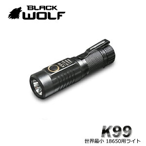 ハンディライト 充電式 LED 最強 強力 懐中電灯 充電式 USB バッテリー 防水 自転車 高輝度 軍用 小型 防災 明るい K99 リフレクタータイプ Cree XLamp XM-L2 BLACKWOLF ブラックウルフ