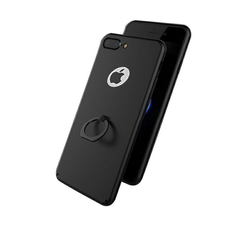Apple iPhone8 Plus /iPhone7 plus ケース リング付き 方手持ち アイフォン8プラス/7プラス ハードカバー