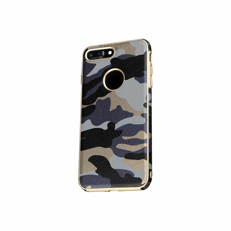 iPhone7 Plus ケース 耐衝撃 TPU 迷彩 ネックストラップ付 アイフォン 7 Plus ソフトケース