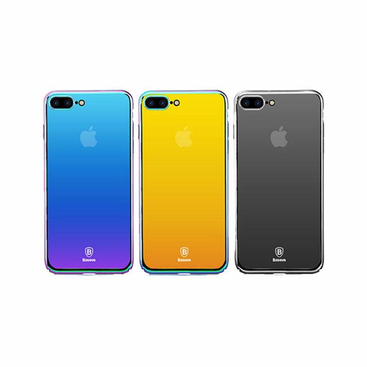 Apple iPhone8 Plus /iPhone7 plus クリア ケース PC 耐衝撃 ミラー 鏡面 カバー アイフォン8プラス/7プラス ケース
