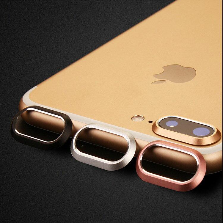 Apple iPhone8 Plus /iPhone7 plus カメラレンズ 保護 メタルリング ファッションリング アイフォン8プラス/7プラス レンズカバー