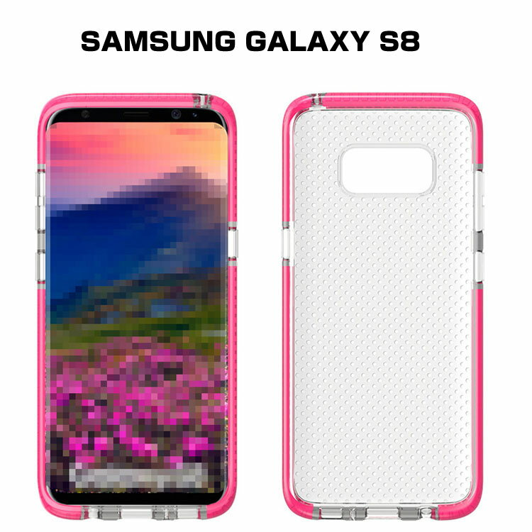 Samsung Galaxy S8 クリアケース TPU カバー 薄型/スリム サムスン ギャラクシーS8用 背面クリアカバー おすすめ おしゃれ スマホケース SC-02J docomo SCV36 au