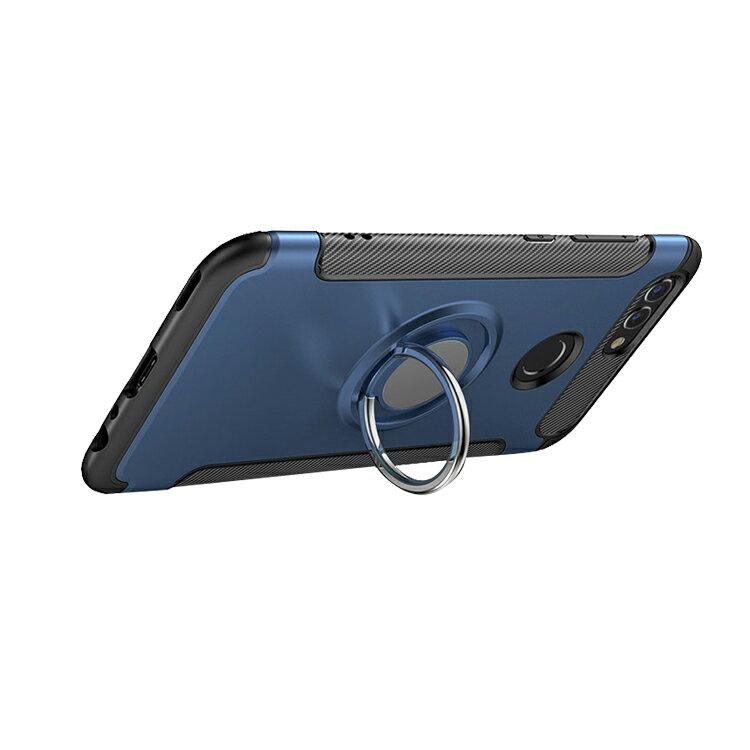 HUAWEI nova2 ケース/カバー シリコン シンプル リングブラケット付き スマホリング付き かっこいい ファーウェイ ノバ2ソフトケース/カバー おすすめ おしゃれ スマホケース/カバー
