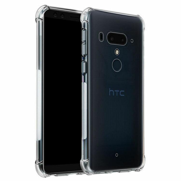HTC U12+ クリアケース カバー TPU 耐衝撃 シンプル 透明 ソフトケース おすすめ おしゃれ アンドロイド スマフォ スマホ スマートフォンケース/カバー