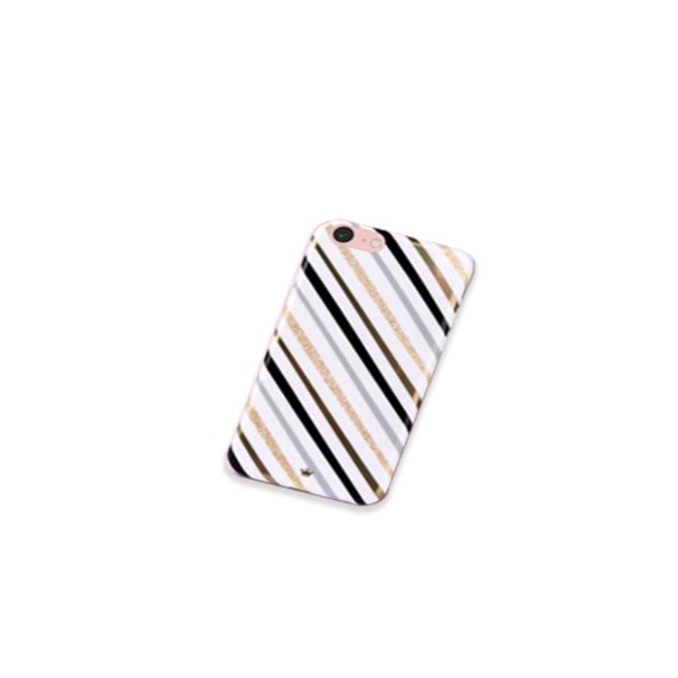 Apple iPhone8 Plus /iPhone7 plusケース TPU 耐衝撃 スリム ストライプ アイフォン8プラス/7プラス かっこいい 耐衝撃カバー リボン チェック柄